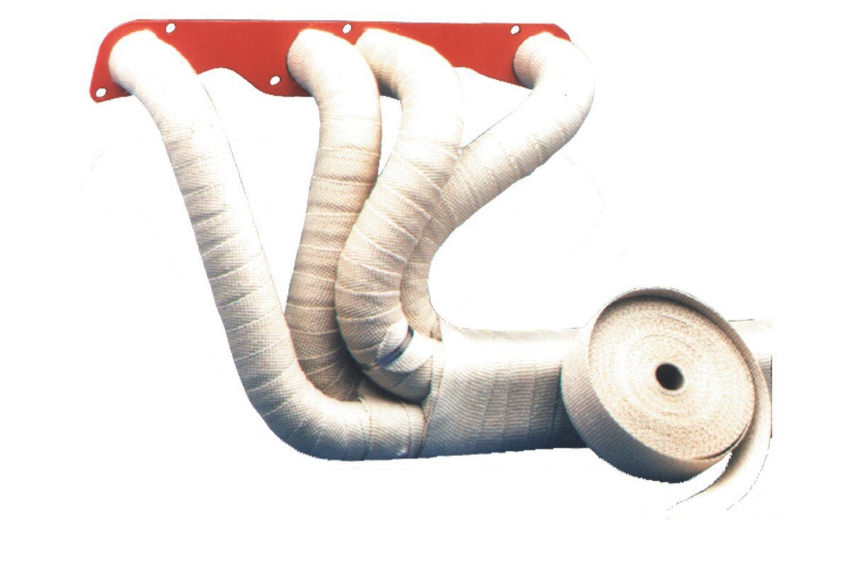 Taśma termiczna TurboWorks 50mm x 2mm 10m White Ceramic - GRUBYGARAGE - Sklep Tuningowy